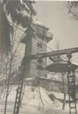 Špičák VL1000_1 prosinec vlek v provozu 1965