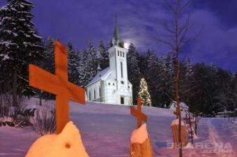 Půlnoční mše v kostele sv. Antonína Paduánského