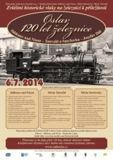 Oslavy 120 let železnice