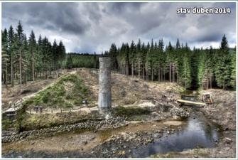 Revitalizace Protržené přehrady na Bílé Desné