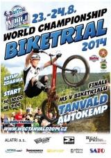 Finále Mistrovství světa v biketrialu Tanvald