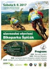Slavnostní zahájení provozu Bikeparku Tanvaldský špičák